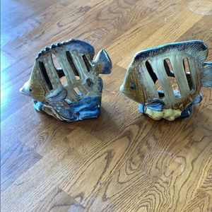 Fish candle holders